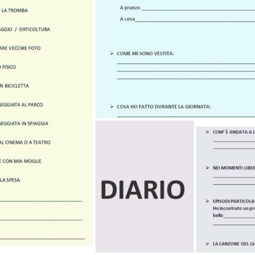 Diario e stimolazione cognitiva